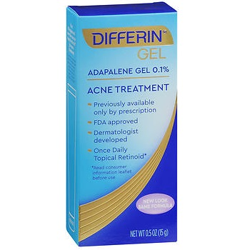 15g Differin Adapalene Gel 0 1 Acne Treatment 1 Pack Sherman Pharmacy