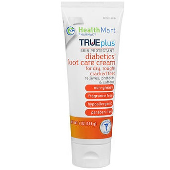 Health Mart Trueplus Diabetic Foot Care Cream 4oz Sherman Pharmacy